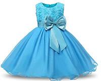 Платье детское нарядное пишное праздничное 80, 90, 100, 110, 120, 130, 135 см сукня дитяча святкова на свято