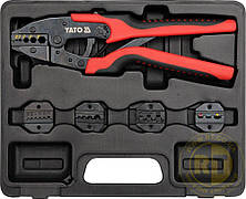 Набор для обжима кабельных наконечников 6 шт. Yato YT-2245