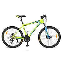 Детский спортивный велосипед 26 PROFI HARDY G026A0261 Голубой с салатовым 23-SAN445, КОД: 318713