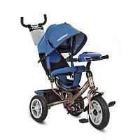 Велосипед трехколесный Turbo Trike M 3115HAJ-13 Синий с коричневым intM 3115HAJ-13, КОД: 961251