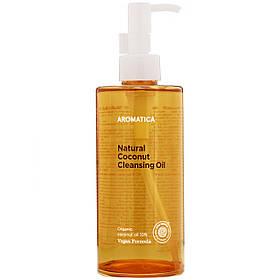 Органическое гидрофильное масло с кокосом Aromatica Natural Coconut Cleansing Oil 300 мл