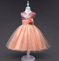 Платье детское нарядное пышное 70,80,90,100,110,120,130,140,150 праздничное сукня пишна дитяча святкова