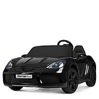 Детский электромобиль Bambi Porsche M 4055ALS-2 Черный