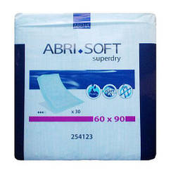 Пеленки Abri-Soft Underpads Superdry 60 x 90cм 1500 мл, 30 шт.
