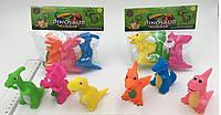 Пищалка AK68248-1  Динозаврики 2 вида, по 3 шт. в пакете 16*5,5*17см