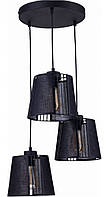 Люстра подвесная TK Lighting 1550 CARMEN BLACK