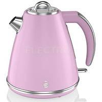 Чайник SWAN SK19020PN Retro Jug roz, фото 1
