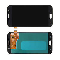 Дисплей модуль Samsung A720F Galaxy A7 (2017) в зборі з тачскріном чорний Original