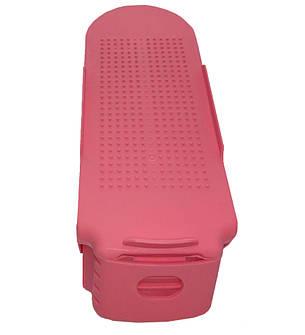Подставка для обуви SHOES HOLDER - Розовая, фото 2