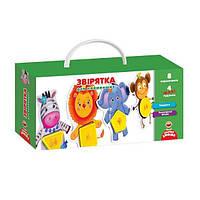 Гра с пуговицями Звірятка на украинском Vladi Toys - 218864