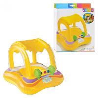 Плот надувной детский с навесом, Intex 56581