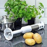 Ручной блендер Igenix IG8654 с мензуркой и чашей кухонного комбайна, фото 3