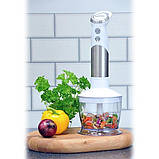 Ручной блендер Igenix IG8654 с мензуркой и чашей кухонного комбайна, фото 2