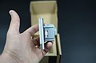 Розетка с заземлением Livolo 16А розовый стекло (VL-C7C1EU-17), фото 5