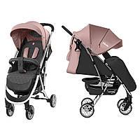 Коляска прогулочная Carrello Gloria CRL-8506/1 Coral Pink, резиновое колесо, дождевик