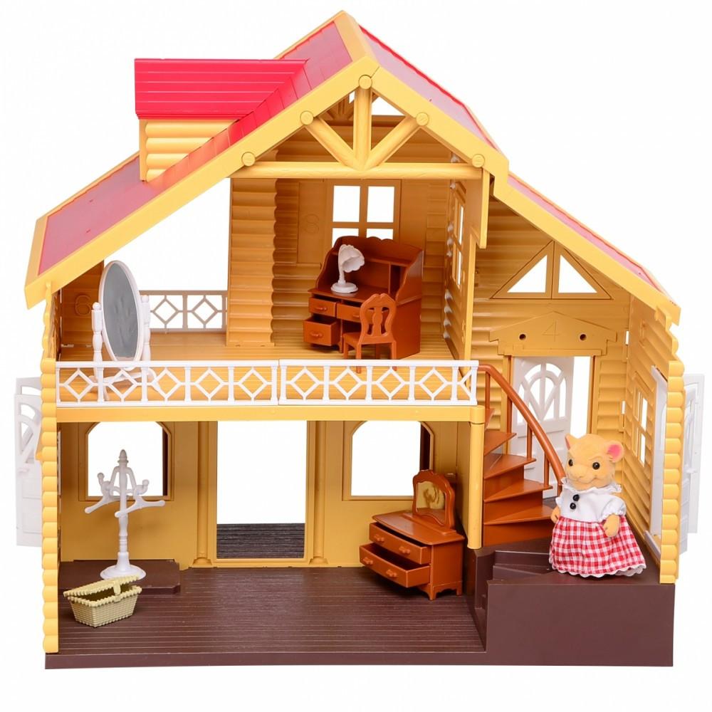 IF254 Домик лесной Мебель игрушка для фигурок