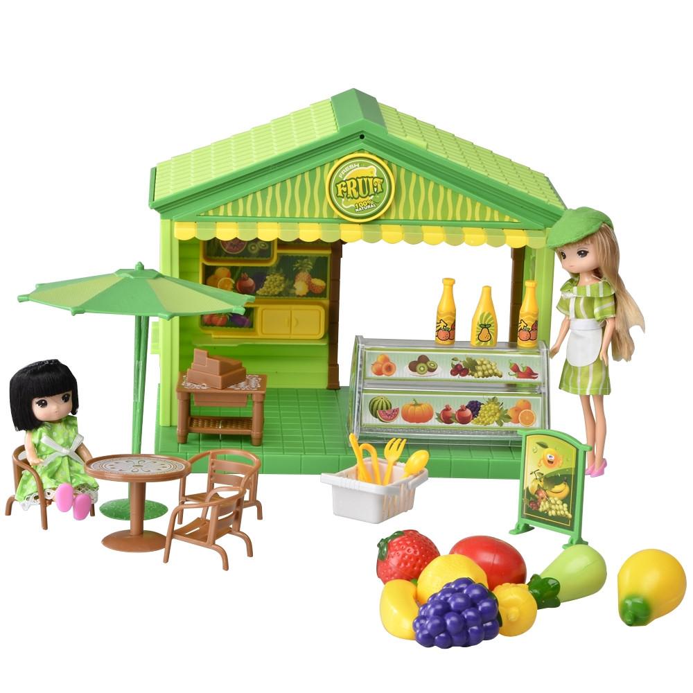 IM366 Домик для куклы магазин фруктов