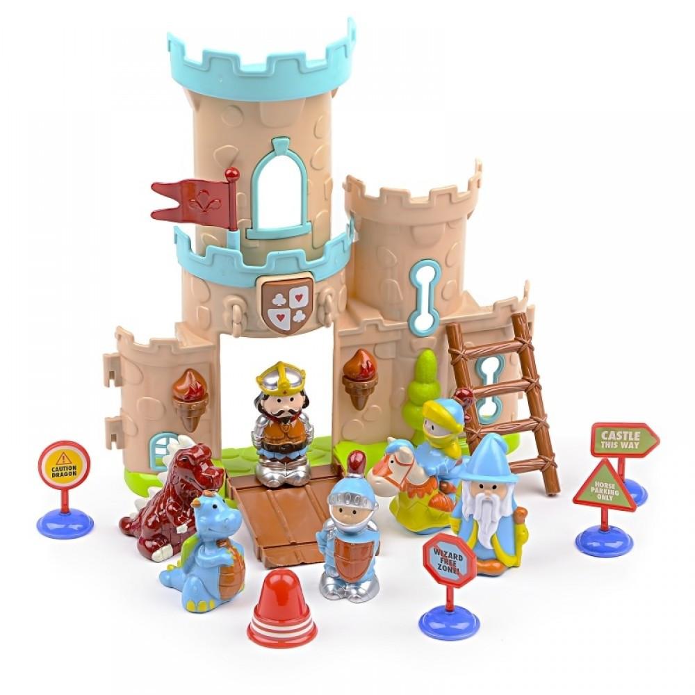 IM422 Кукольный замок рыцарей фигурки