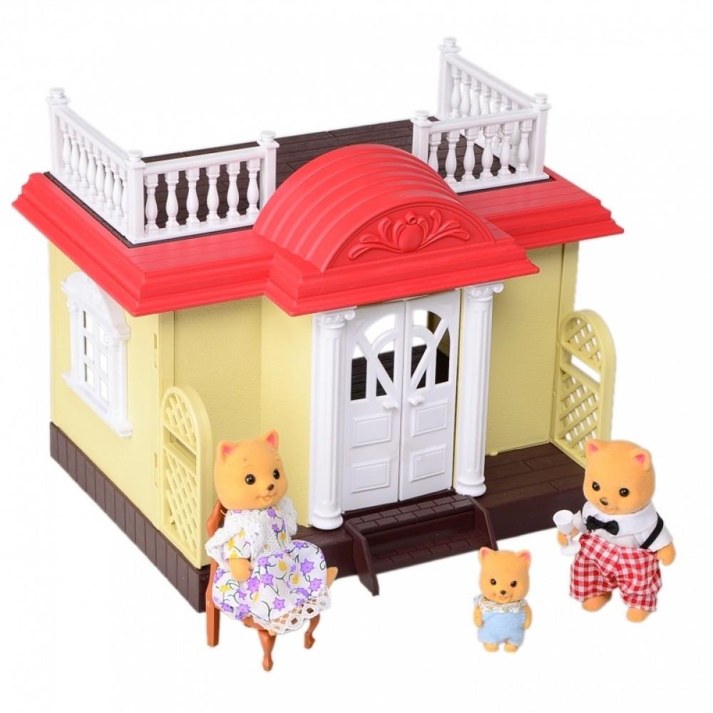 IF255 Домик лесной Мебель игрушка для фигурок