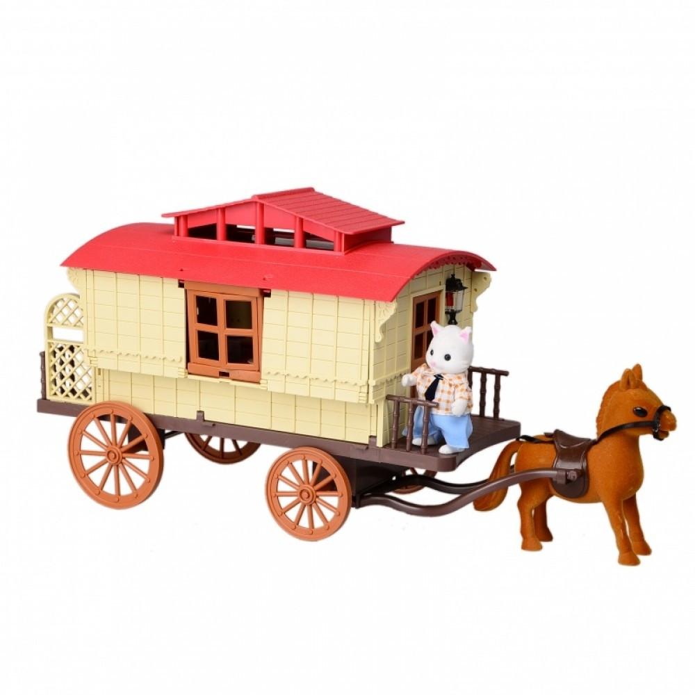 IF256 Домик лесной Мебель игрушка для фигурок