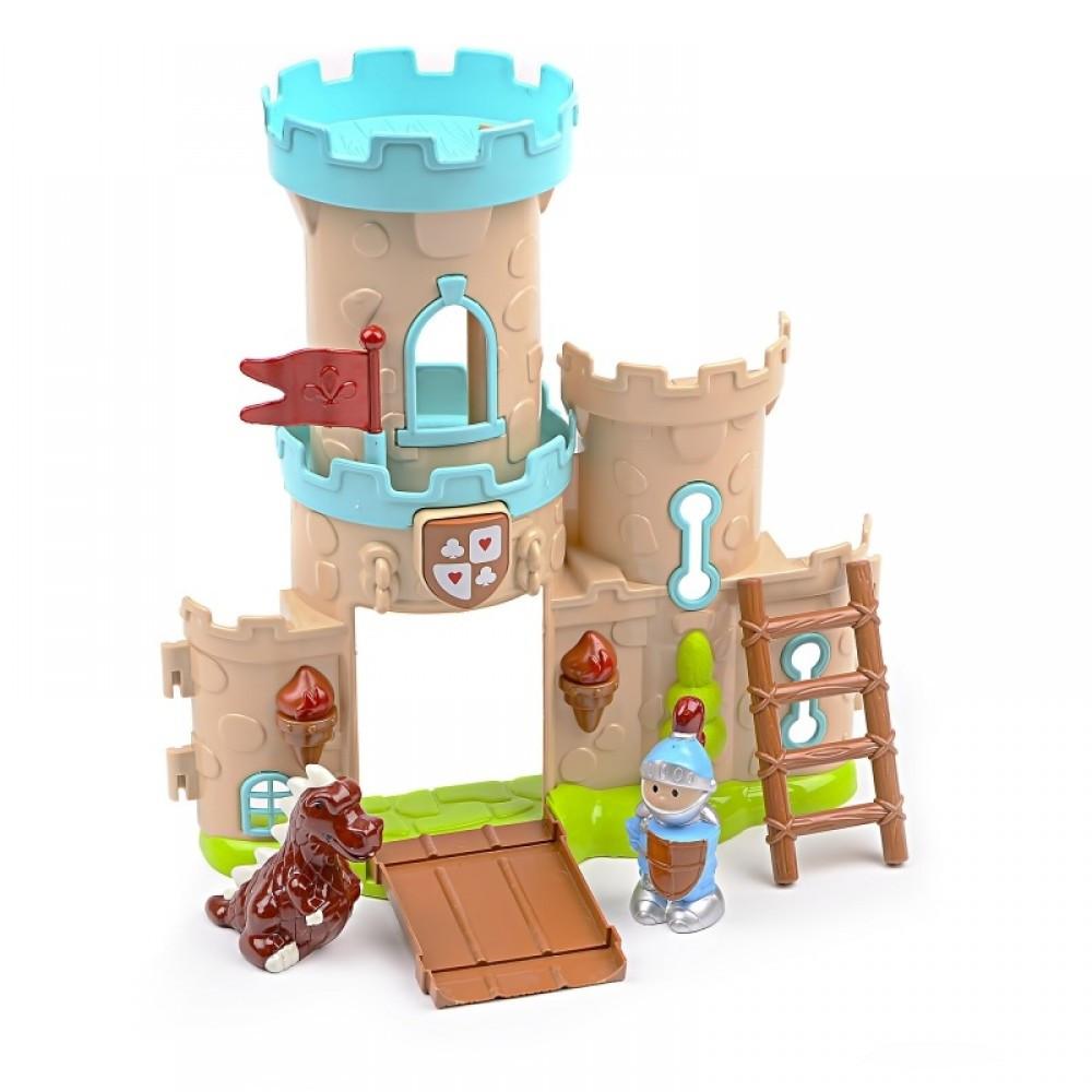 IM424 Кукольный замок фигурки рыцарей