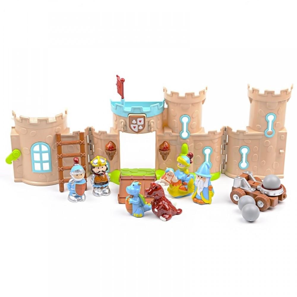 IM426 Кукольный замок фигурки катапульта