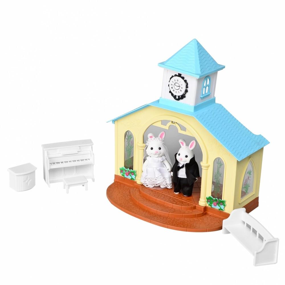 IF260 Домик лесной Мебель игрушка для фигурок