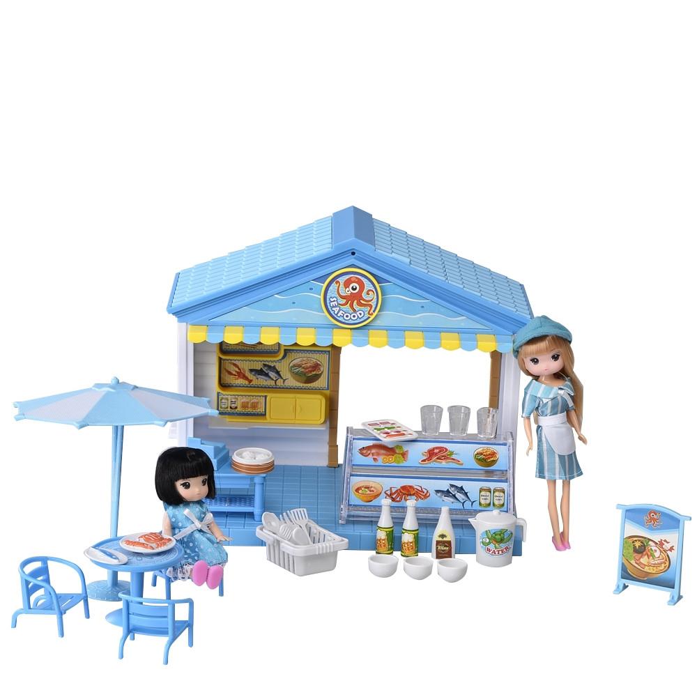 IM369 Домик для куклы морепродукты