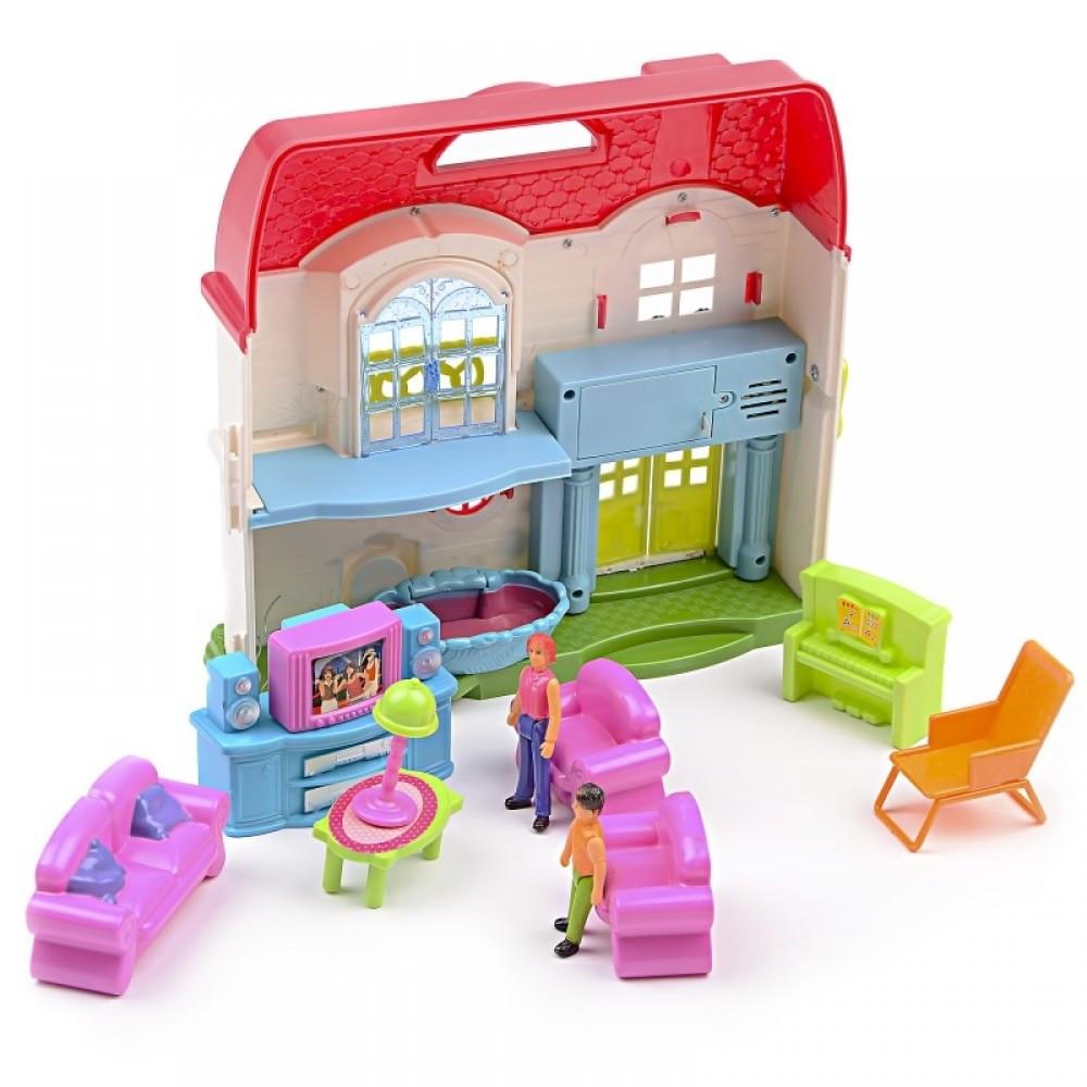IM436 Кукольный домик гостинная фигурки