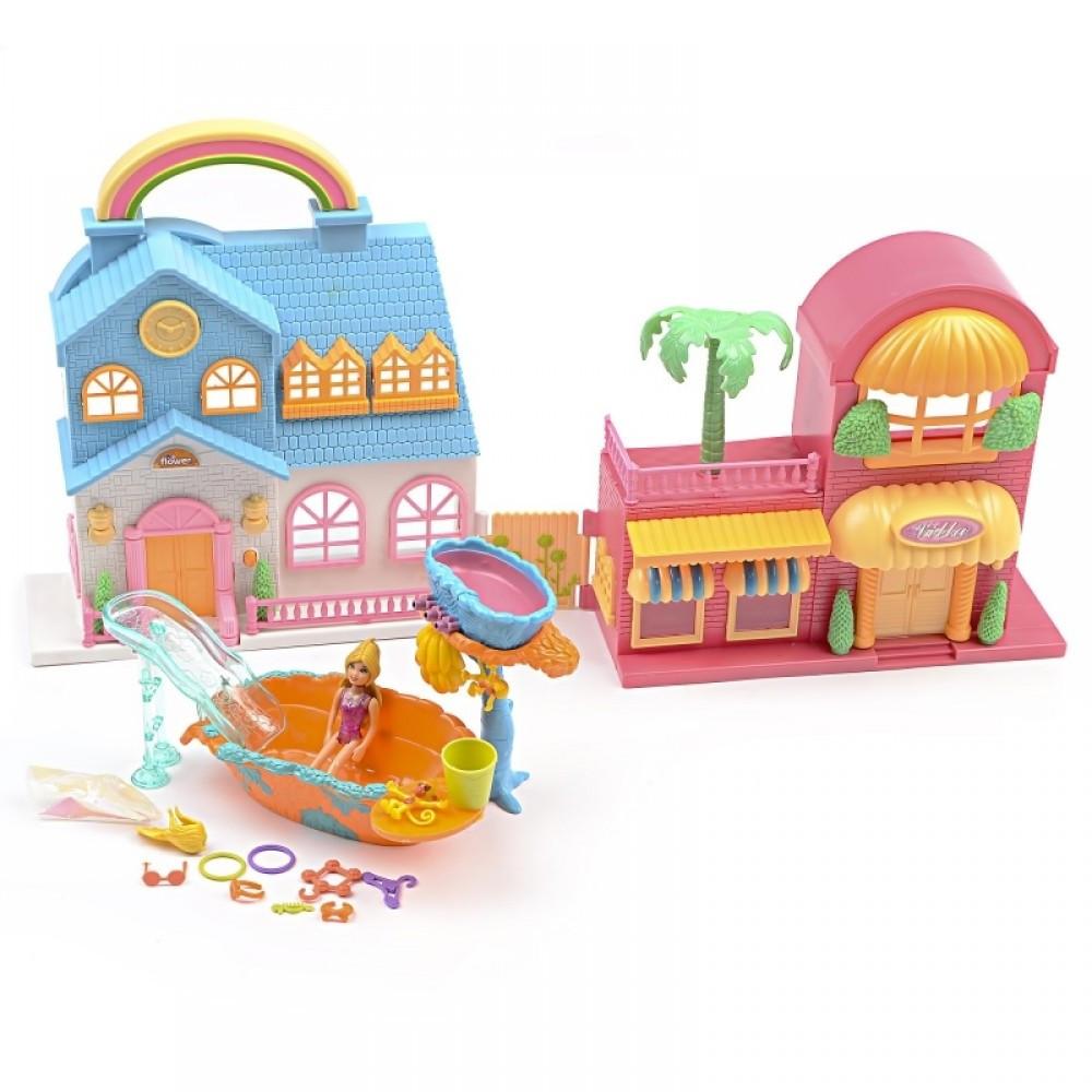 IM420 Домики для кукол ванная фигурки