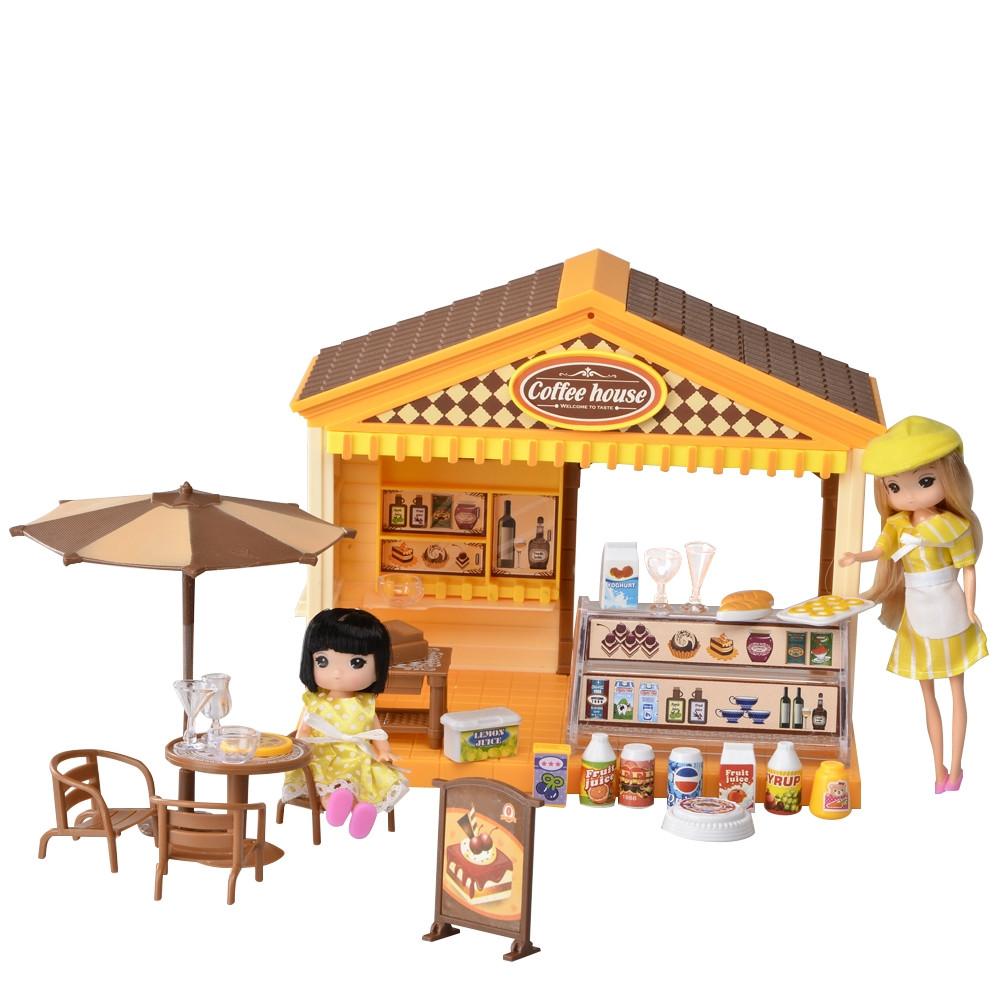 IM365 Домик для куклы кофейня