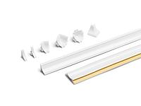 Угол наружный 90 градусов CL 91624 Белый 351119-007 дополнение к кухоной отбортовке