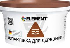 Шпаклевка для дерева Element белый 350 г