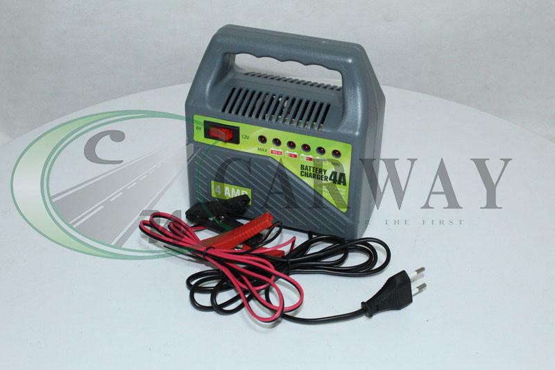 Зарядний пристрій PULSO 6-12V / 4A / 10-60AHR /світлодіодна індикація Vitol