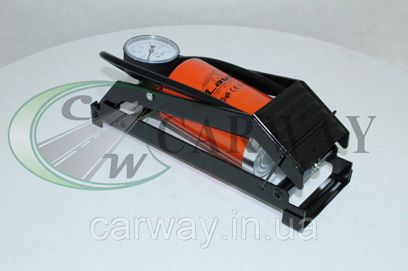 Насос ножной одноцилиндровый 7 ATM 80х130 мм усиленный LA 190241 Lavita