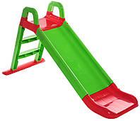 """Детская горка """"Фламинго"""" 0140/04, длинна спуска 140 см, зеленая"""