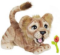 Интерактивная игрушка львенок FurReal Friends Disney The Lion King Simba, Симба Король Лев. Оригинал, Hasbro
