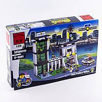 """Конструктор """"Полицейский участок"""" 589 деталей Brick-129"""