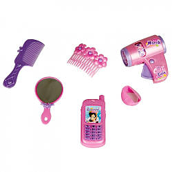 IE49A1 Расческа фен телефон для девочки