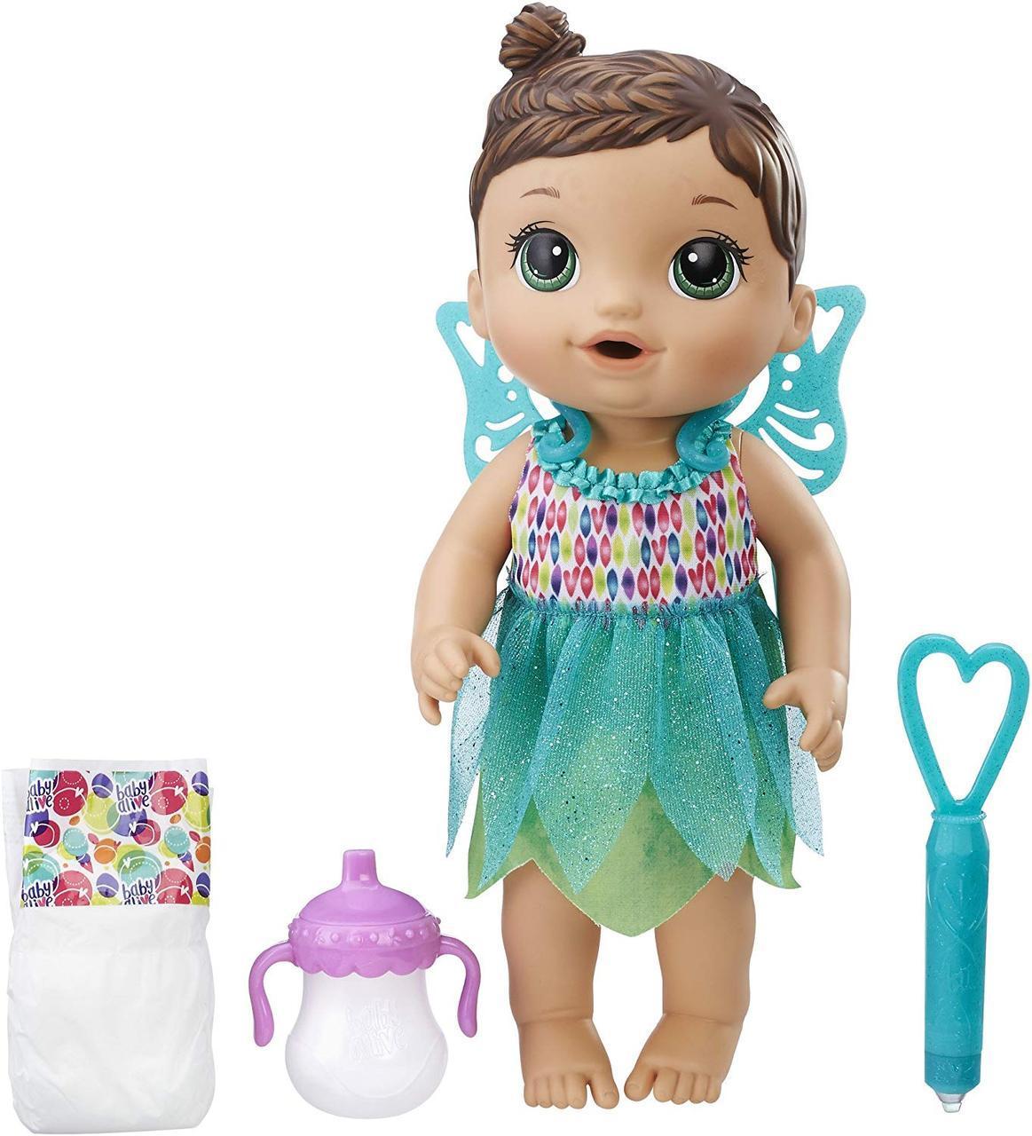 Baby Alive Кукла пупс Малышка Фея брюнетка Face Paint Fairy Brunette