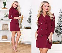 Женское платье жакет.Размеры:42,44,46.+Цвета, фото 1