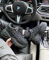 Женские зимние кроссовки Buffalo London Classic Leather Boots, Реплика Люкс, фото 1