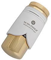 Термостатическая головка Schlosser SH Brillant Белая - золото