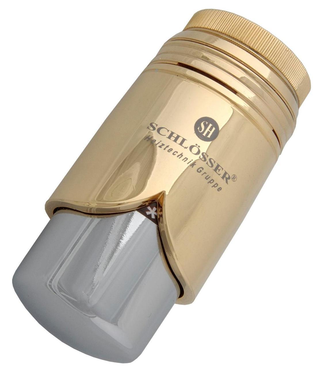Термостатическая головка Schlosser SH Brillant Золото - Хром