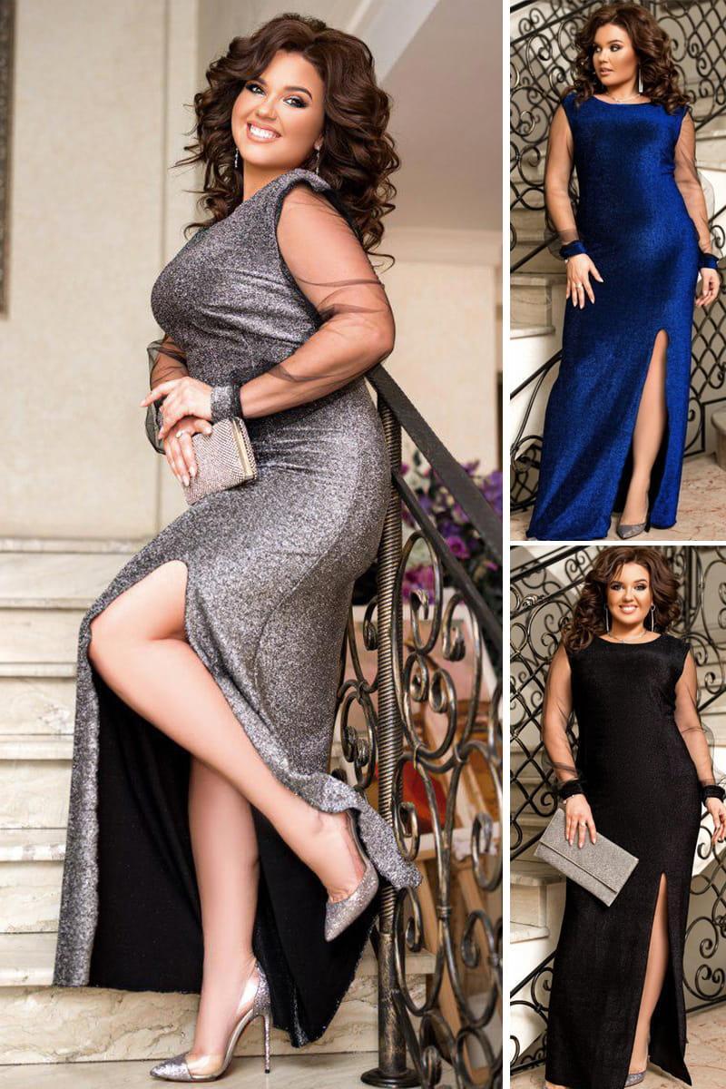 Длинное вечернее платье Феррари