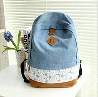 Рюкзак женский Джинс, фото 1