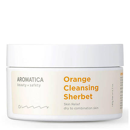 Очищающий щербет Aromatica Orange Cleansing Sherbet, 180 мл, фото 2