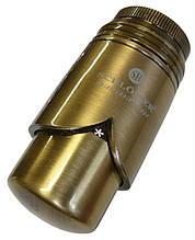 Термостатична головка Schlosser SSH Brillant антична латунь