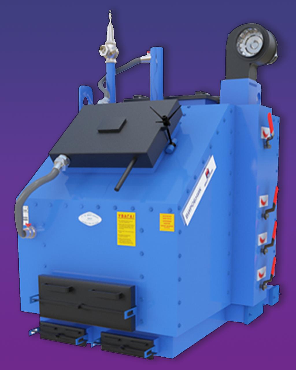 Пром. котел Идмар KW-GSN (150 кВт) длительного горения на твердом топливе