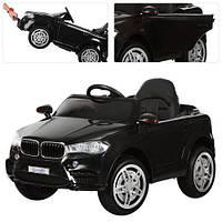 Детский электромобиль BMW M 3180 EBLR-2, мягкое сиденье, черный
